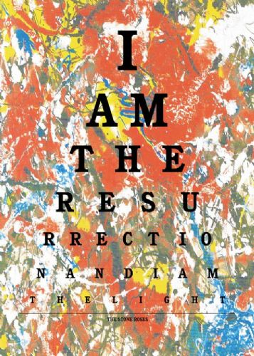 ART - STONE ROSES - RESURRECTION LYRICS ART canvas print - self adhesive poster - photo print